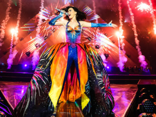 Katy Perry performing at Belfast, Northern Ireland