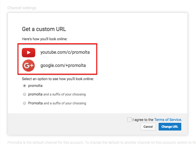 How To Set Up A Custom URL For Your YouTube Channel