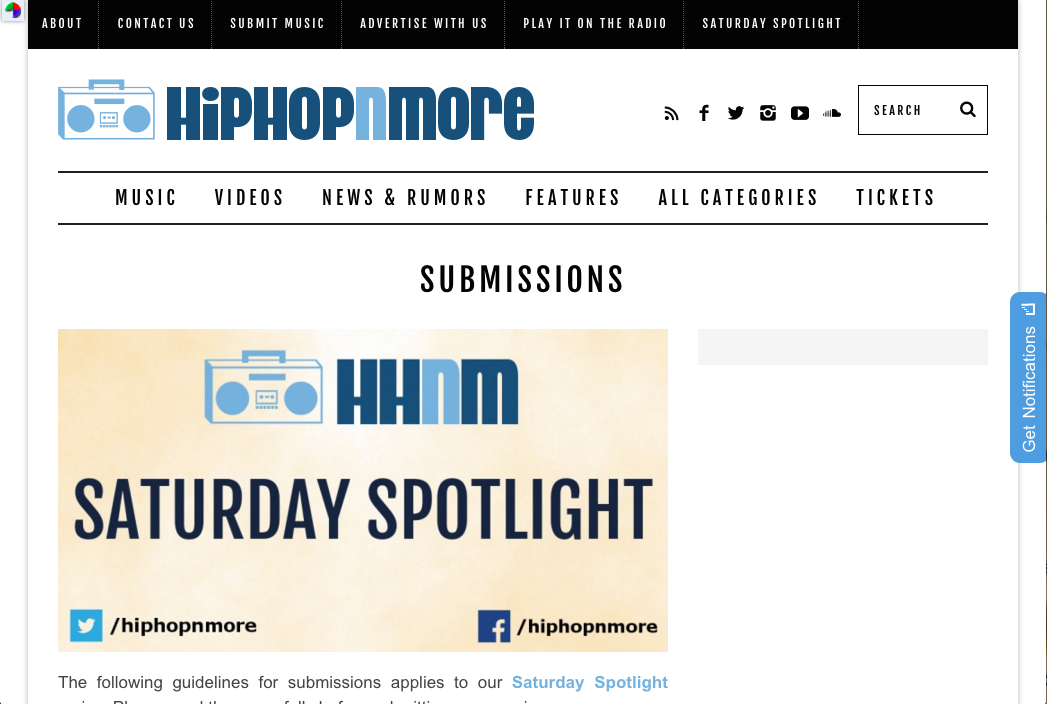 5 Best Hip Hop Blogs To Submit Your Music - Promolta Blog